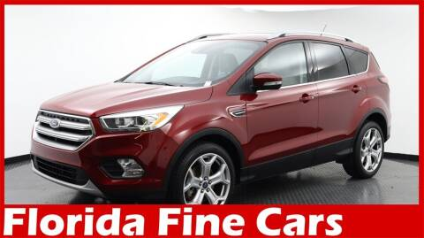 2017 Ford Escape for sale at Florida Fine Cars - West Palm Beach in West Palm Beach FL
