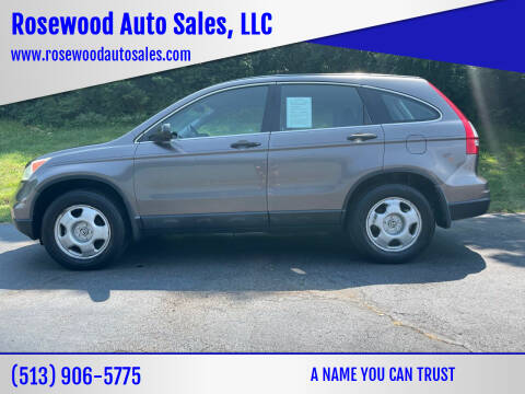 2010 Honda CR-V for sale at Rosewood Auto Sales, LLC in Hamilton OH
