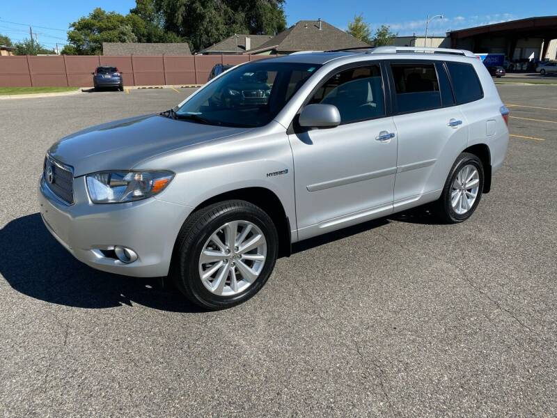 2009 Toyota Highlander Hybrid for sale at Quality Automotive Group Inc in Billings MT