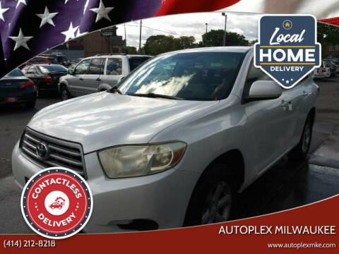 2008 Toyota Highlander for sale at Autoplex Milwaukee in Milwaukee WI