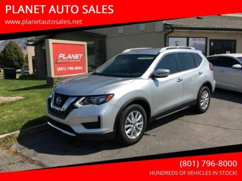 2018 Nissan Rogue for sale at PLANET AUTO SALES in Lindon UT