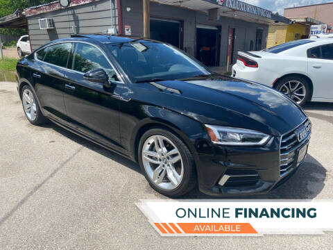 2019 Audi A5 Sportback for sale at Texas Luxury Auto in Houston TX