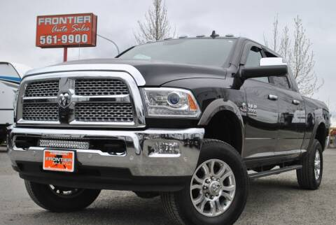 2018 RAM Ram Pickup 3500 for sale at Frontier Auto & RV Sales in Anchorage AK