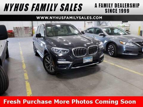 2018 BMW X3 for sale at Nyhus Family Sales in Perham MN