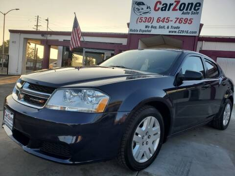 2014 Dodge Avenger for sale at CarZone in Marysville CA