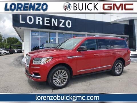 2020 Lincoln Navigator for sale at Lorenzo Buick GMC in Miami FL