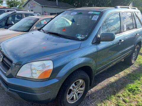 2005 Honda Pilot for sale at Trocci's Auto Sales in West Pittsburg PA