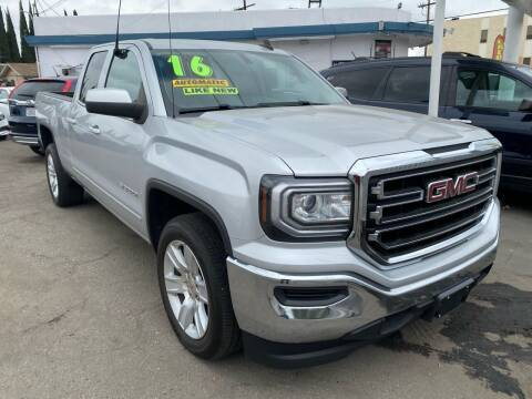 2016 GMC Sierra 1500 for sale at CAR GENERATION CENTER, INC. in Los Angeles CA