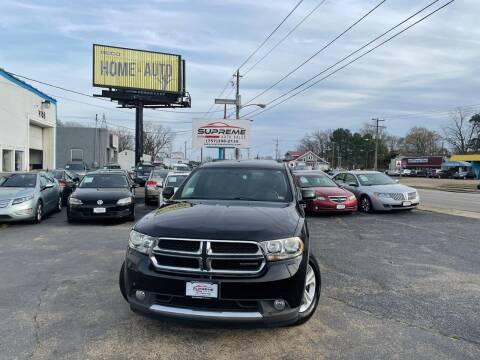 2011 Dodge Durango for sale at Supreme Auto Sales in Chesapeake VA