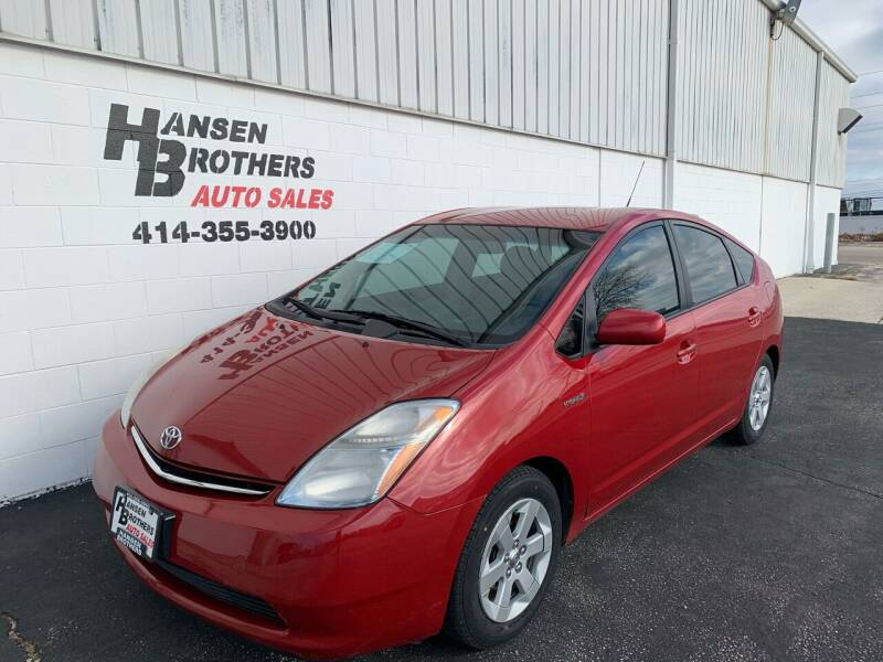 2007 Toyota Prius for sale at HANSEN BROTHERS AUTO SALES in Milwaukee WI