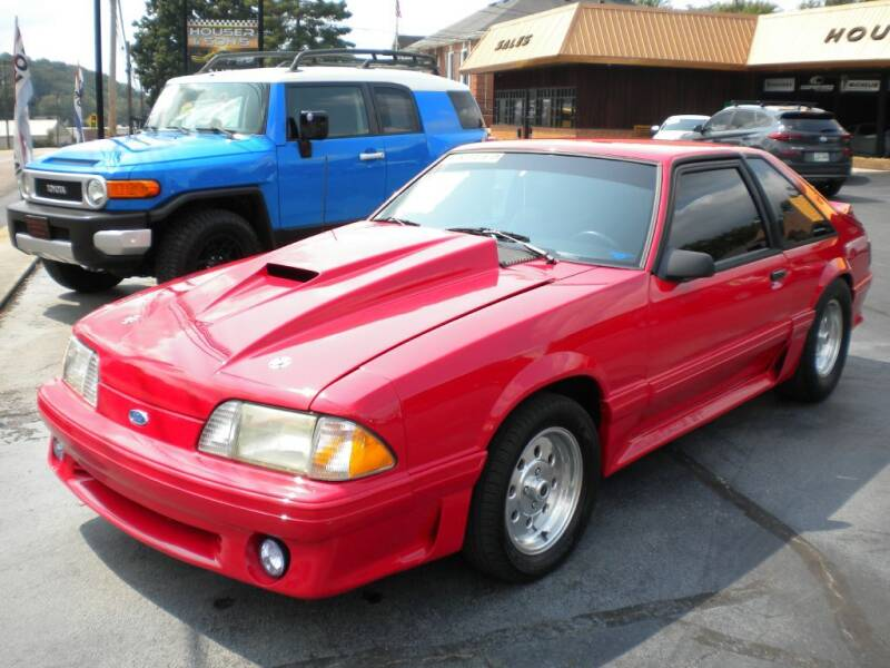 1990 Ford Mustang for sale at Houser & Son Auto Sales in Blountville TN