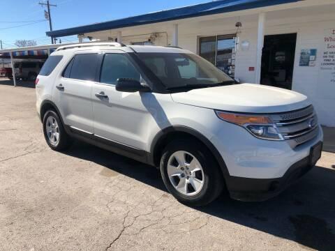 2012 Ford Explorer for sale at Kann Enterprises Inc. in Lovington NM