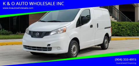 2015 Nissan NV200 for sale at K & O AUTO WHOLESALE INC in Jacksonville FL