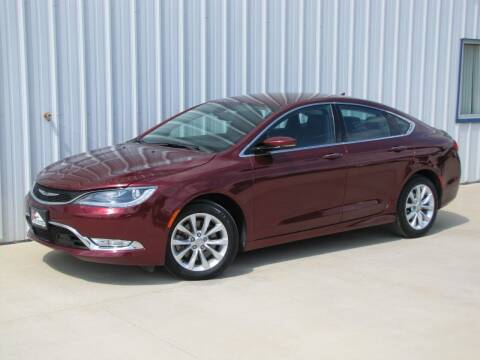 2015 Chrysler 200 for sale at Lyman Auto in Griswold IA