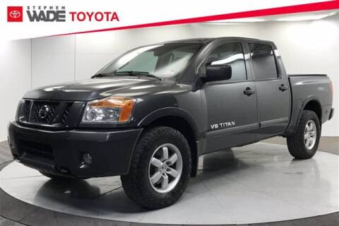 2012 Nissan Titan for sale at Stephen Wade Pre-Owned Supercenter in Saint George UT