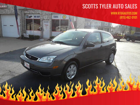 2006 Ford Focus for sale at Scotts Tyler Auto Sales in Wilmington IL