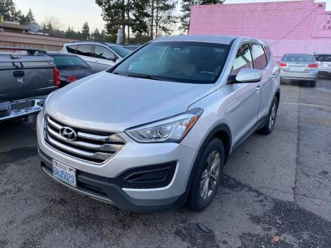 2014 Hyundai Santa Fe Sport for sale at SNS AUTO SALES in Seattle WA