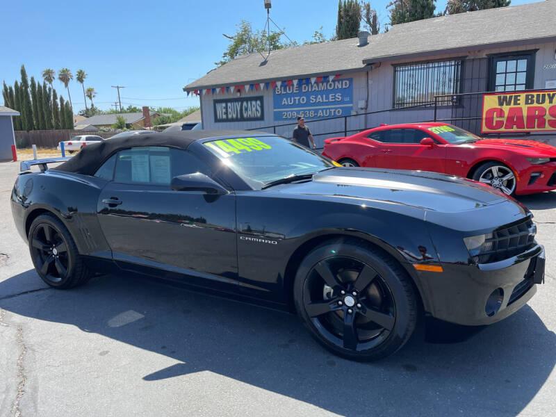 2011 Chevrolet Camaro for sale at Blue Diamond Auto Sales in Ceres CA