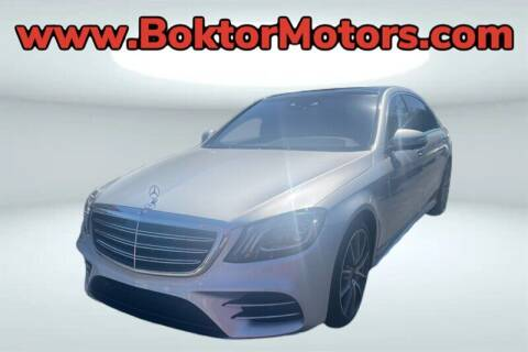 2018 Mercedes-Benz S-Class for sale at Boktor Motors in North Hollywood CA