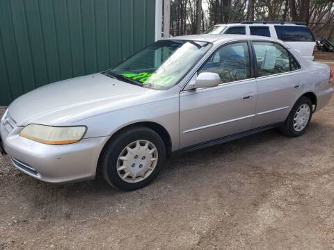 2001 Honda Accord for sale at Northwoods Auto & Truck Sales in Machesney Park IL