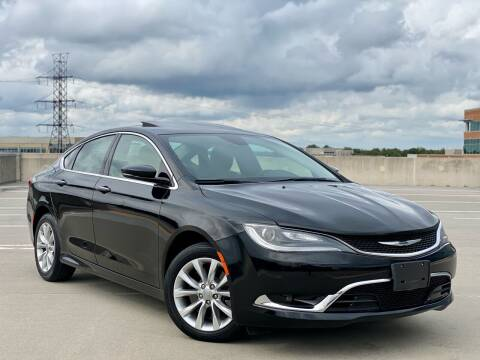 2015 Chrysler 200 for sale at Car Match in Temple Hills MD