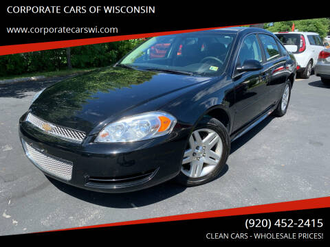 2016 Chevrolet Impala Limited for sale at CORPORATE CARS OF WISCONSIN in Sheboygan WI