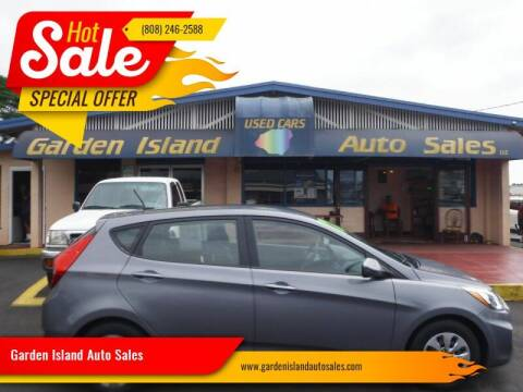 2017 Hyundai Accent for sale at Garden Island Auto Sales in Lihue HI
