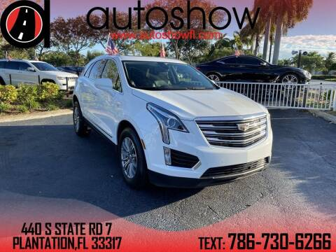 2018 Cadillac XT5 for sale at AUTOSHOW SALES & SERVICE in Plantation FL
