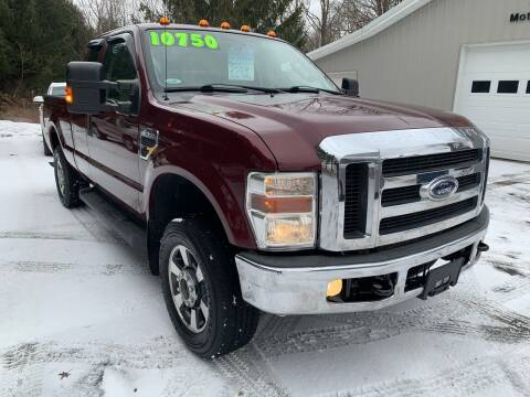 2008 Ford F-250 Super Duty for sale at SMS Motorsports LLC in Cortland NY