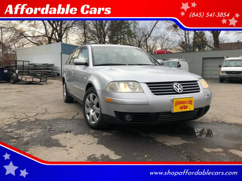 2003 Volkswagen Passat for sale at Affordable Cars in Kingston NY