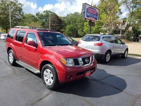2007 Nissan Pathfinder for sale at Crocker Motors in Beloit WI
