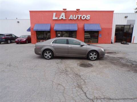 2012 Chevrolet Malibu for sale at L A AUTOS in Omaha NE