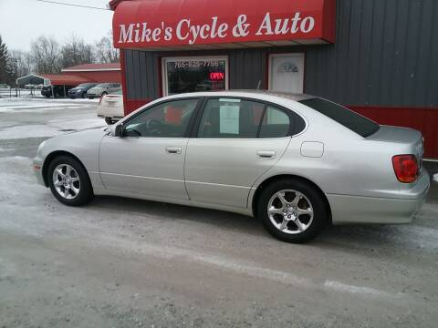 2003 Lexus GS 300 for sale at MIKE'S CYCLE & AUTO - Mikes Cycle and Auto (Liberty) in Liberty IN