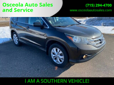 2013 Honda CR-V for sale at Osceola Auto Sales and Service in Osceola WI