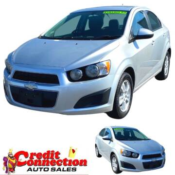 2014 Chevrolet Sonic for sale at Credit Connection Auto Sales in Midwest City OK