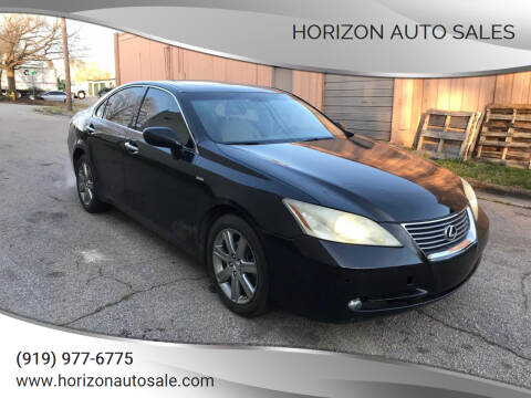 2009 Lexus ES 350 for sale at Horizon Auto Sales in Raleigh NC