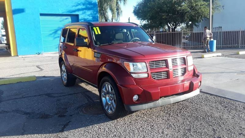 2011 Dodge Nitro for sale at CAMEL MOTORS in Tucson AZ