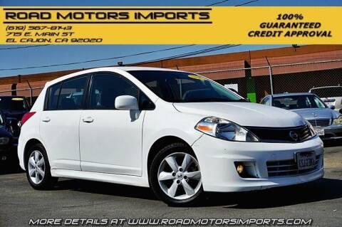 2010 Nissan Versa for sale at Road Motors Imports in El Cajon CA