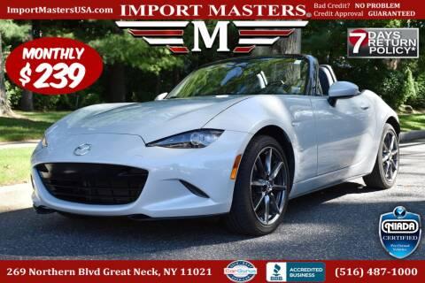 2016 Mazda MX-5 Miata for sale at European Masters in Great Neck NY