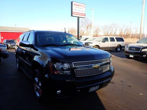 2013 Chevrolet Suburban for sale at Marty's Auto Sales in Savage MN