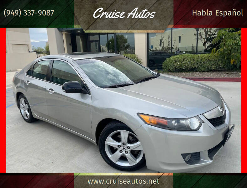 2010 Acura TSX for sale at Cruise Autos in Corona CA