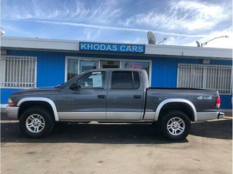 2003 Dodge Dakota for sale at Khodas Cars in Gilroy CA