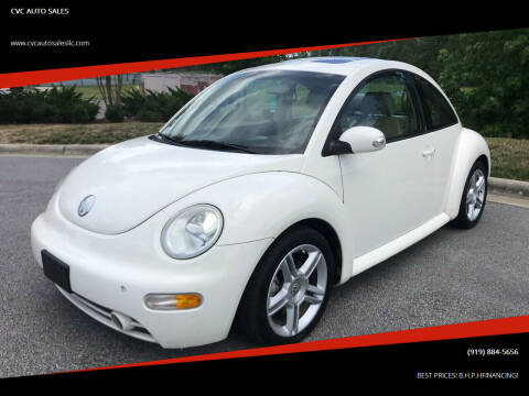 2004 Volkswagen New Beetle for sale at CVC AUTO SALES in Durham NC