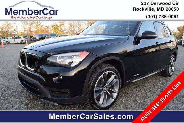 2015 BMW X1 for sale at MemberCar in Rockville MD