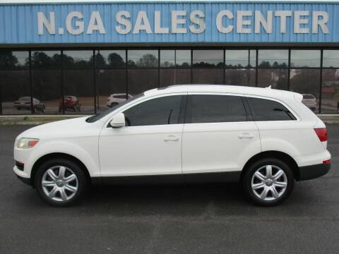2007 Audi Q7 for sale at NORTH GEORGIA Sales Center in La Fayette GA