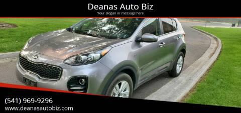 2017 Kia Sportage for sale at Deanas Auto Biz in Pendleton OR