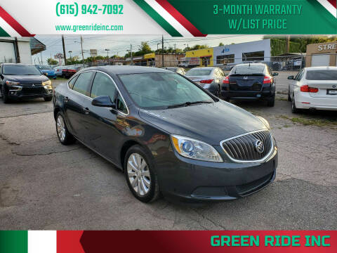 2015 Buick Verano for sale at Green Ride Inc in Nashville TN