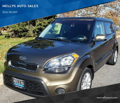 2012 Kia Soul for sale at NELLYS AUTO SALES in Souderton PA
