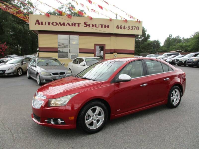 2011 Chevrolet Cruze for sale at Automart South in Alabaster AL