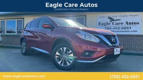 2017 Nissan Murano for sale at Eagle Care Autos in Mcpherson KS